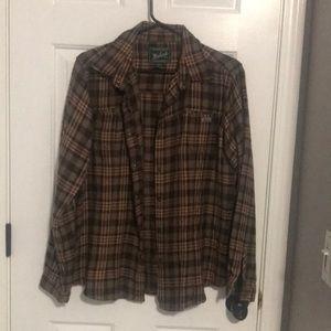 Woolrich super soft flannel shirt